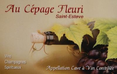 Au Cépage Fleuri Saint Estève