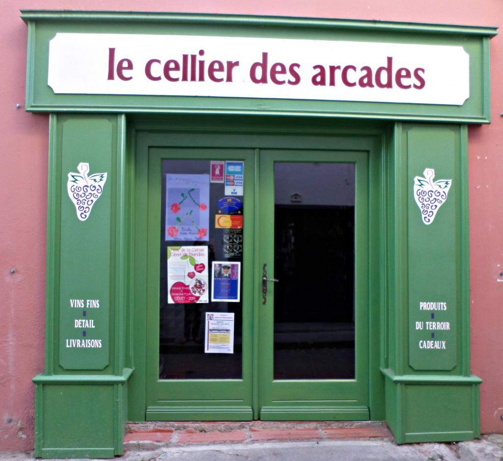 Cellier des Arcades Céret
