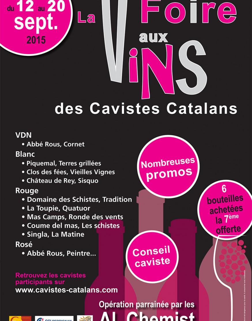 Foire aux vins 2015 Coordination des Cavistes Catalans